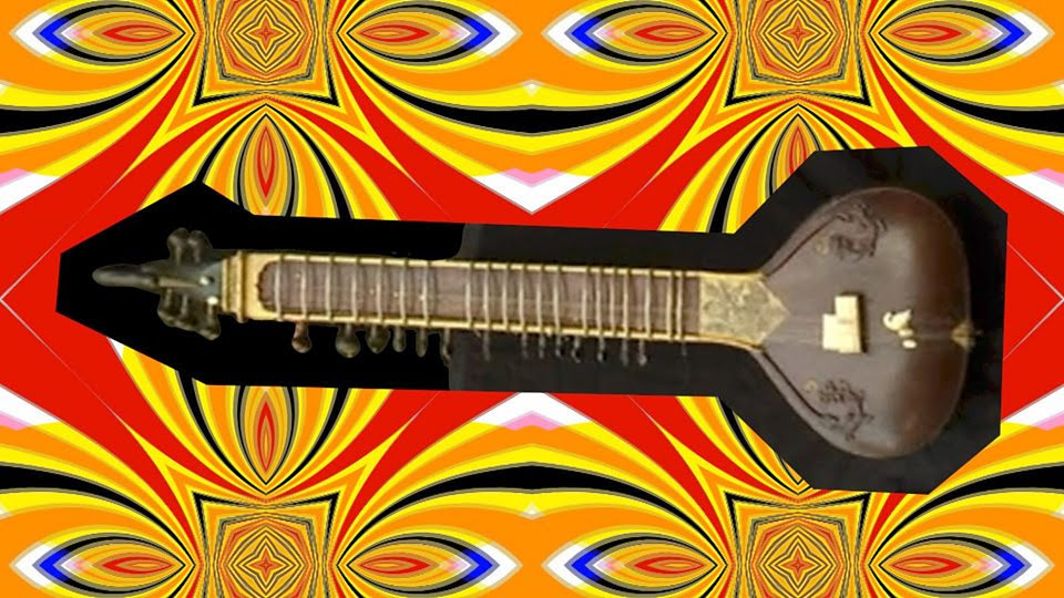 The sitar is an instrument used in Indian classical music