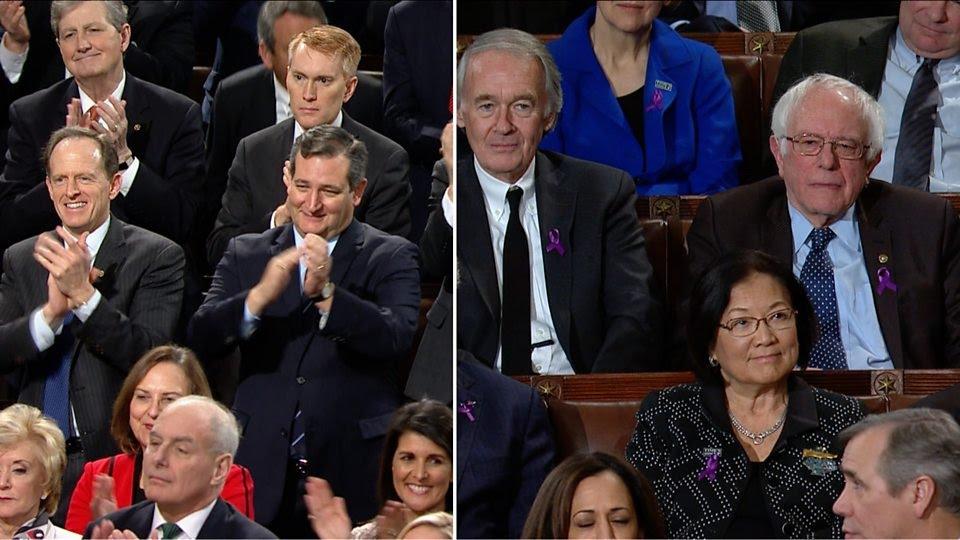 Standing ovation v stony-faced silence