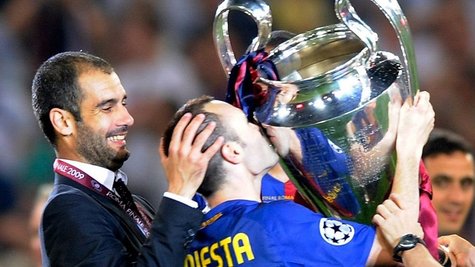 Iniesta helped me understand football better - Guardiola