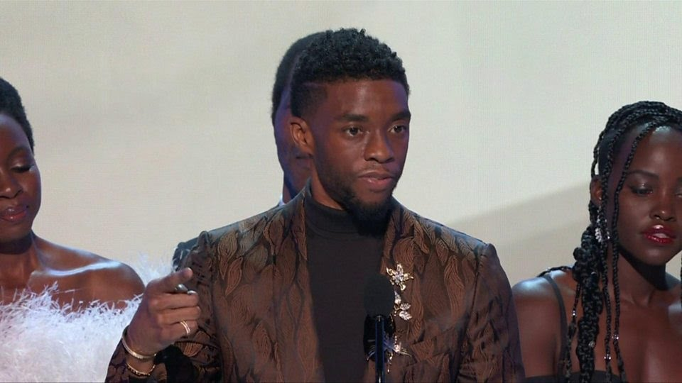 "Chadwick Boseman: ""We know what it is to be young, gifted and black, but told there is not a place for you to be featured."""