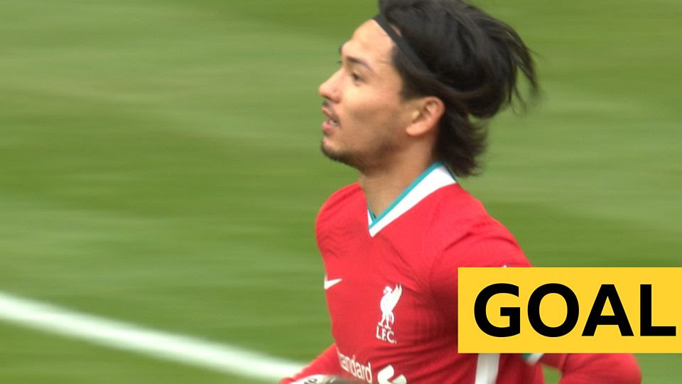 Minamino scores first Liverpool goal to level against Arsenal in Community Shield