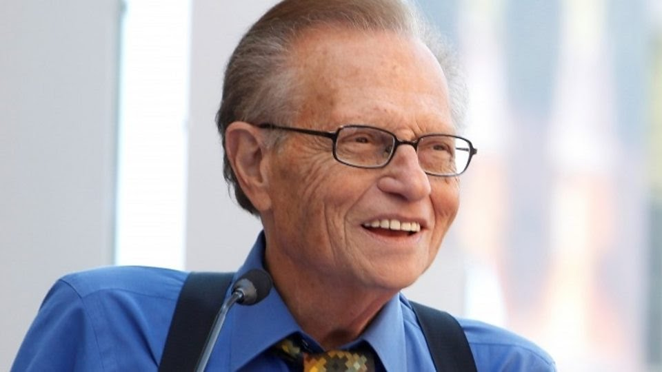 "Larry King: ""I like spontaneity. That's the kind of broadcaster I am""."