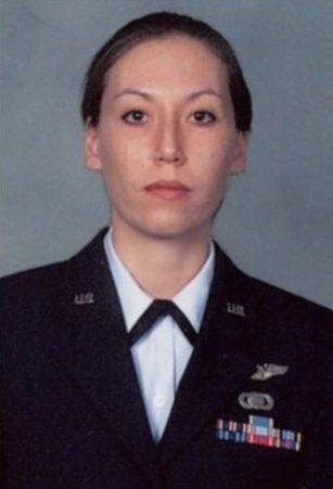 Monica Witt in Air Force uniform