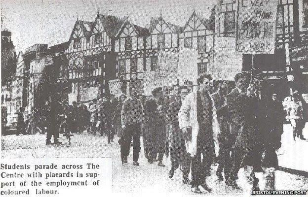 Bristol boycott march
