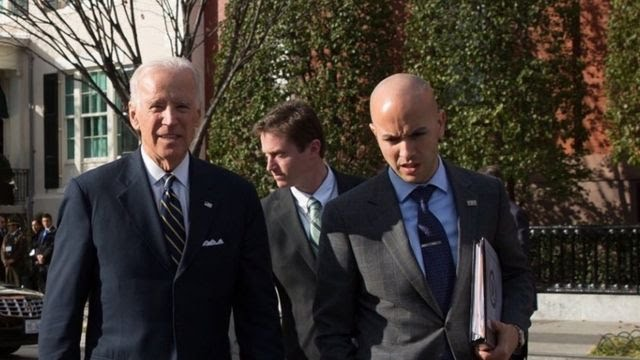 Juan Gonzales e Joe Biden
