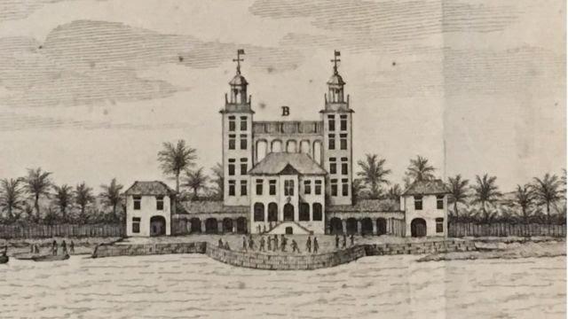 Palácio de Friburgo, demolido no século 18