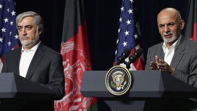 Abdullah Abdullah e Ashraf Ghani