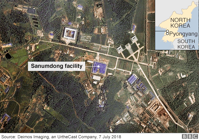 Satellite image of Sanumdong facility