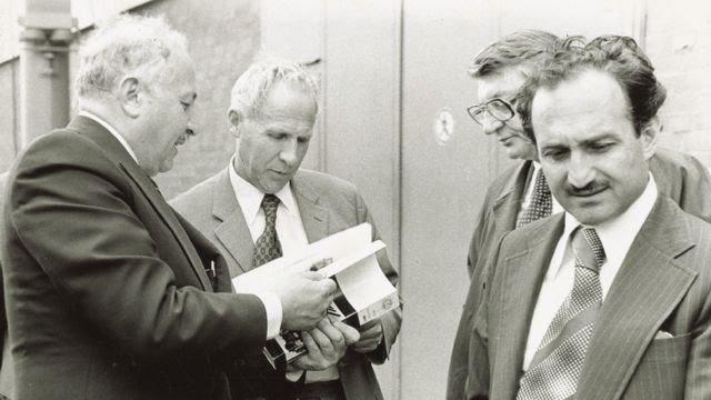 Erbakan'ın 1970'li yıllardaki bir fotoğrafı.