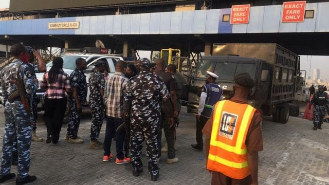 Lekki Toll Gate today protest update