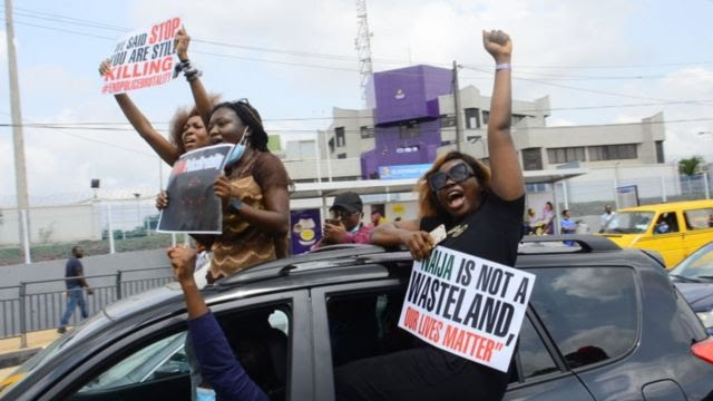 Lekki Toll Gate today protest update: Nigeria [EndSARS] protest on February 13 Lagos and Abuja