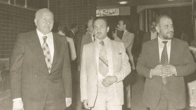 1970'li yıllardan bir Erbakan fotoğrafı.