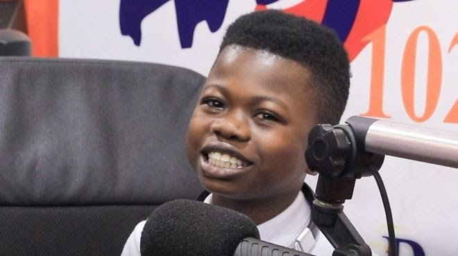 Meet Dominic Fobih di youngest sport presenter for Africa