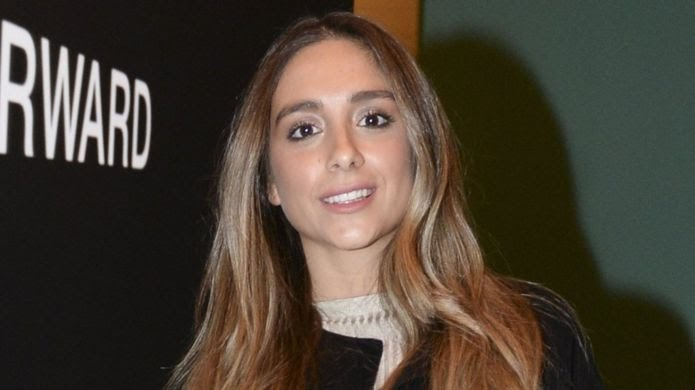 File photo of Mina Basaran at a film premiere in Istanbul (16 November 2016)
