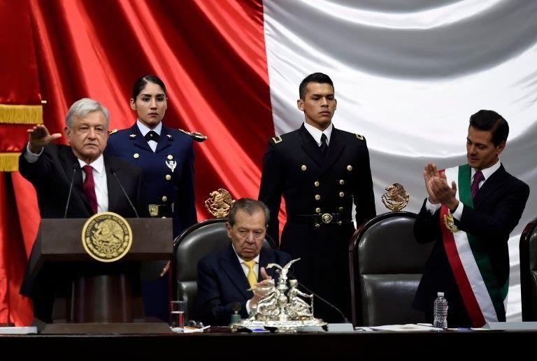 López Obrador rinde protesta