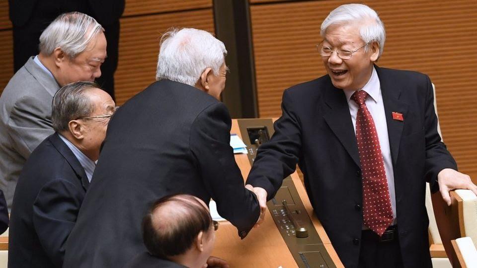 Tổng Bí thư Nguyễn Phú Trọng dự họp Quốc hội ngày 22/5