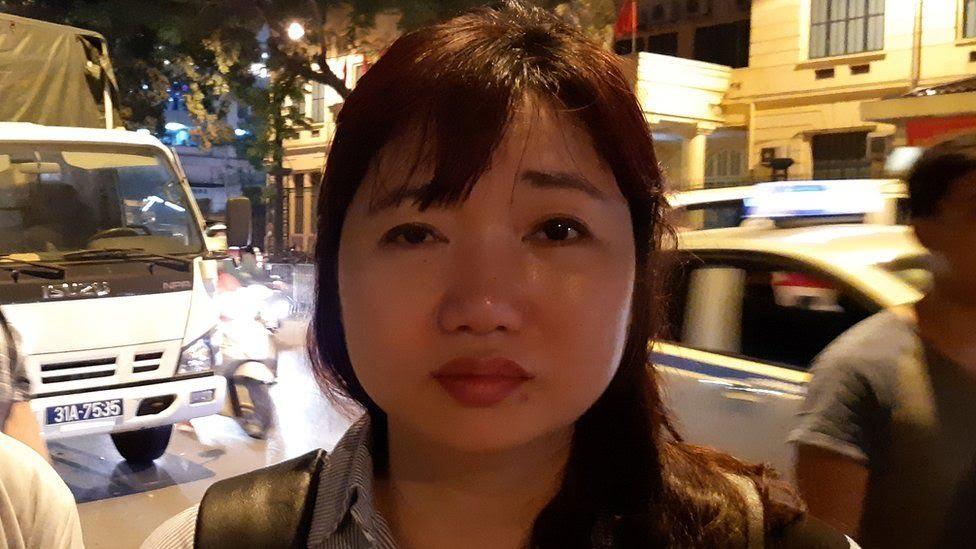 Bà Vũ Minh Khánh hôm 5/4