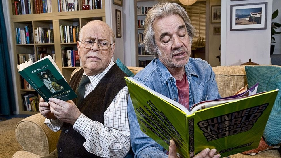 Clive Swift with Roger Lloyd Pack in The Old Guys