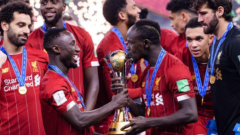 Sadio Mané, vainqueur de la Coupe du Monde des Clubs avec Liverpool.