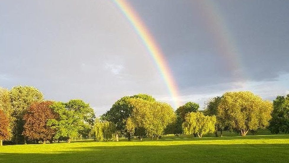 Double rainbow in Harrow