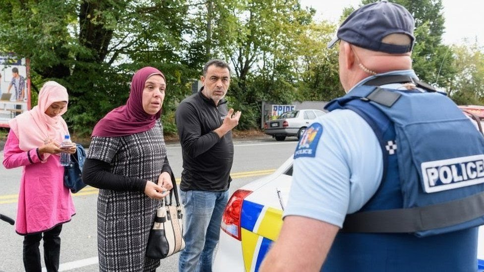 Police talking to relatives