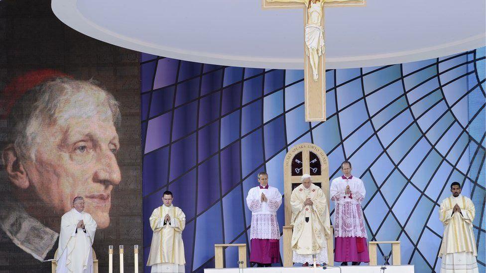 Beatification of John Henry Newman in Birmingham in 2010