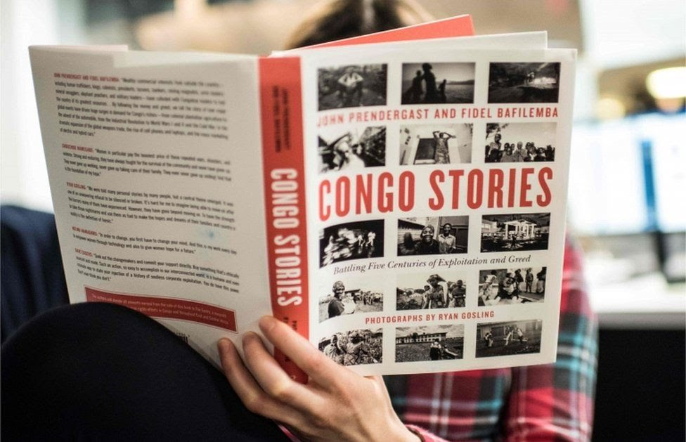 """The """"Congo Stories"""" book by John Prendergast and Fidel Bafilemba with pictures by Ryan Gosling"""