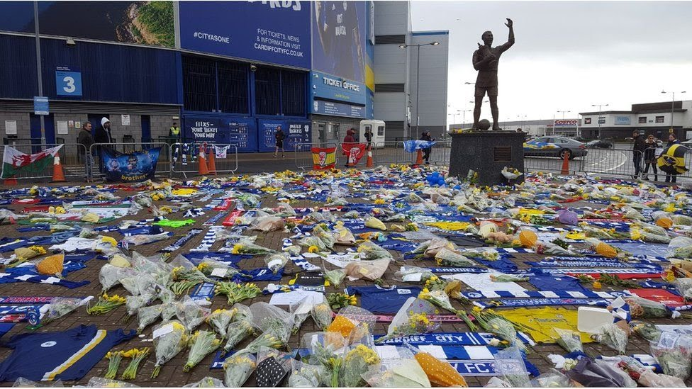 Cardiff City tributes
