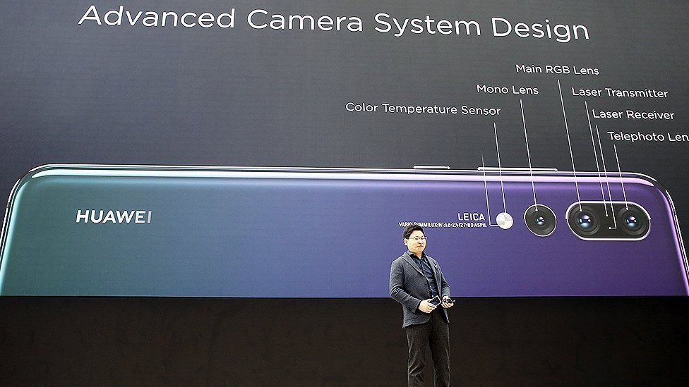 Huawei P20 at launch event