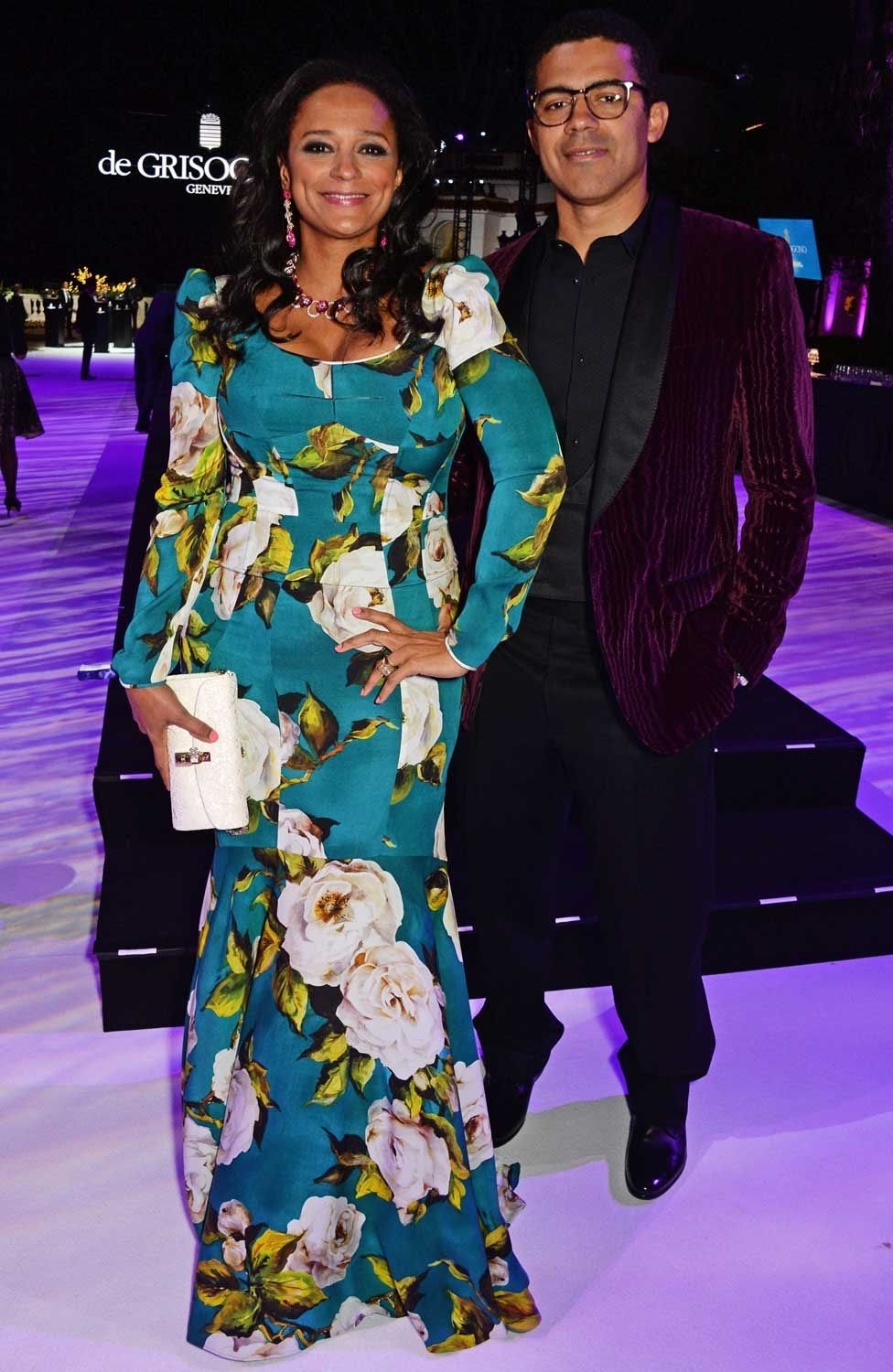 Isabel dos Santos and Sindika Dokolo attend the de Grisogono party during the 69th Cannes Film Festival at Hotel du Cap-Eden-Roc on May 17, 2016 in Cap d'Antibes, France