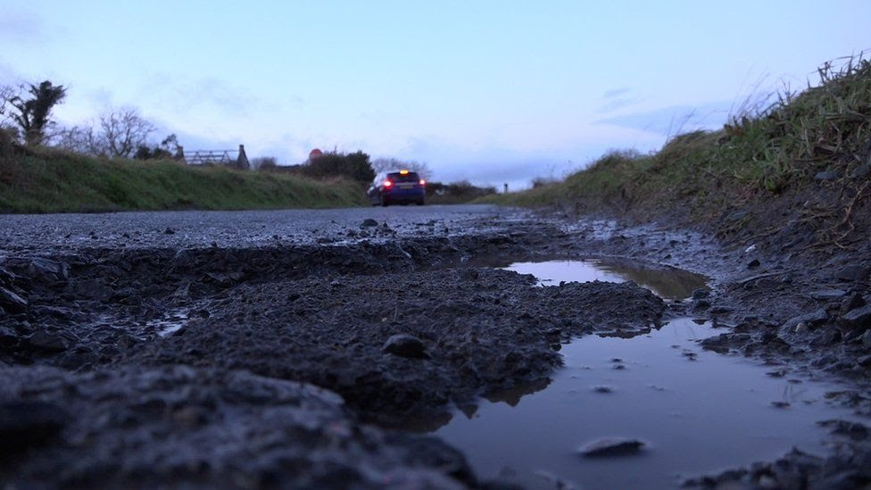 The recent cold snap may have made the pothole problem even worse