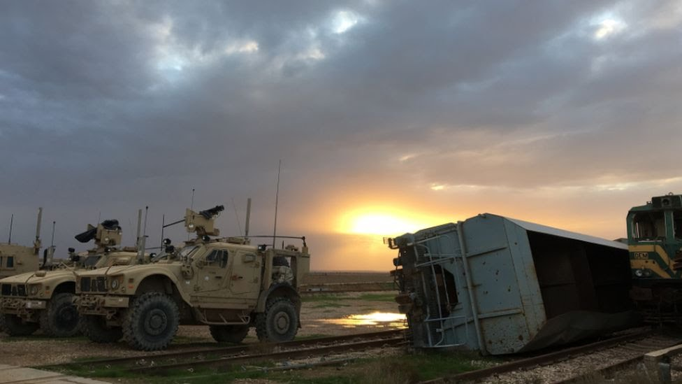 Al Qaim military base, 2017
