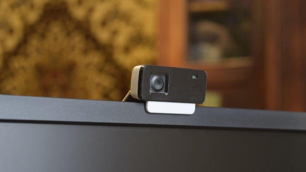 Una cámara web