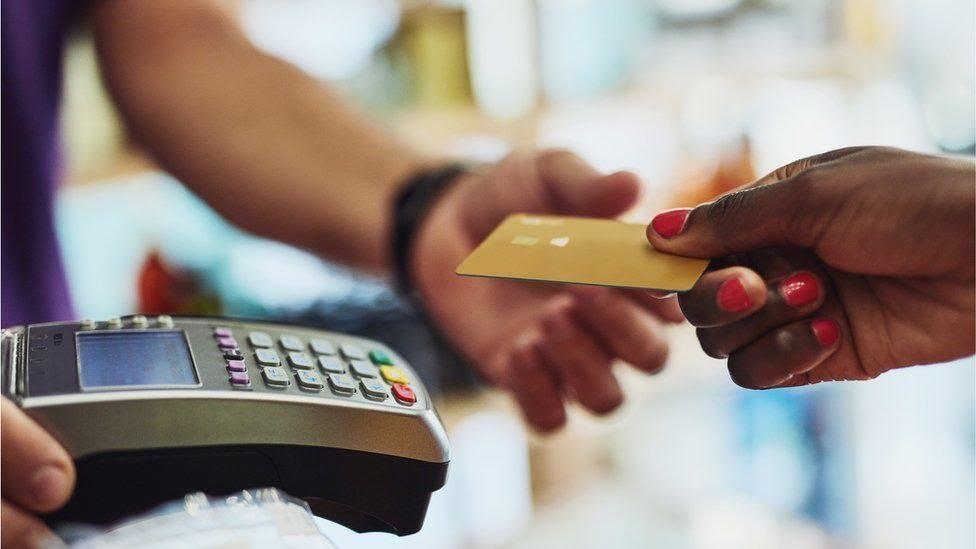 compra com cartão de crédito