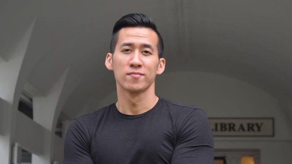 Will Nguyễn, 32 tuổi, người Mỹ gốc Việt có mặt tại cuộc biểu tình ở TP HCM hôm 10/6