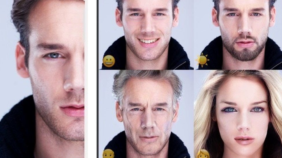 FaceApp screenshots