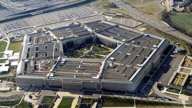 Foto aérea do Pentágono, nos EUA