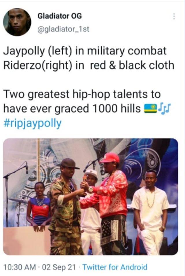 Jay Polly Condolence