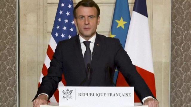 O presidente da França
