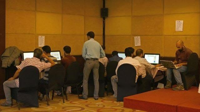 कश्मीर का मीडिया सेंटर