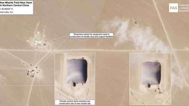 एफएएस ने ये भी कहा है कि अब तक कम से कम 14 साइलो पर गुंबददार कवर बनाए गए हैं.